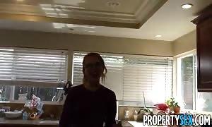 PropertySex - turned on spirit turns adorable innocent agent into crazy sex demon