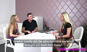 FemaleAgent mother I'd like to fuck shares hot womans bf in awesome th