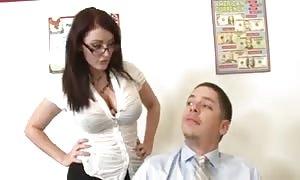 Sophie Dee is slutty fucked schoolgirl